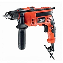 Keyed Spindle Lock Hammer Drill - CD714REK - Red