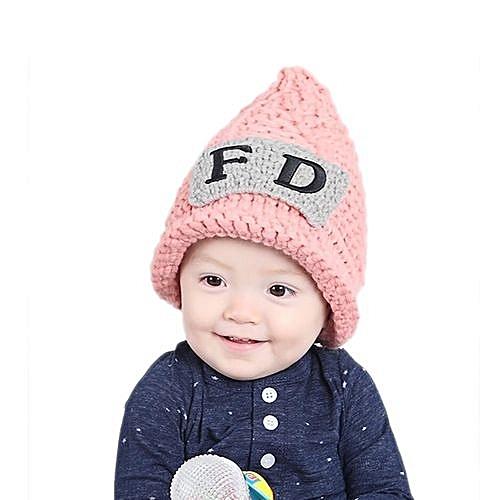 9da13835949 Eissely Cute Winter Baby Kids Girls Boys Warm Woolen Caps Hats PK ...