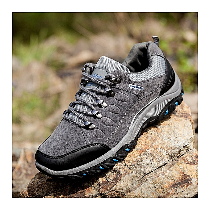 893a5e499c03 Men s outdoor hiking shoes men s non-slip waterproof sneakers sports shoes  men s ...