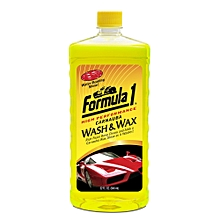 Carnauba Wash & Wax Shampoo Car Washing Liquid  (946 ml)