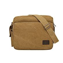 jiuhap store Men  039 s Canvas Messenger Shoulder Bag Crossbody Sling  School Bags Satchel 9f525be8969bb