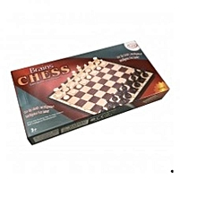 Medium Sized Magnetized Chess Set - Multicoloured