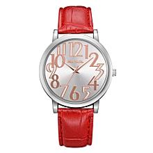 Fashion Women Girls Ladies Leather  Watches