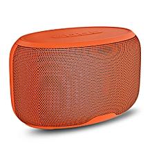 NR - 4015 Wireless Bluetooth Stereo Speaker Subwoofer Mini Player-ORANGE