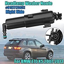 RH Passenger Side For 07-13 BMW E70 X5 Headlight Headlamp Washer Nozzle Sparyer