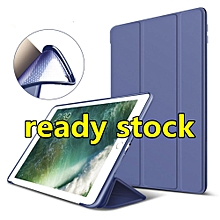 Case For IPad 2017 Silicone Magnetic Case for 2017 New IPad Air Smart Cover Soft TPU Case PU Leather Flip Stand Auto Sleep/Wake A1822 Mll-S