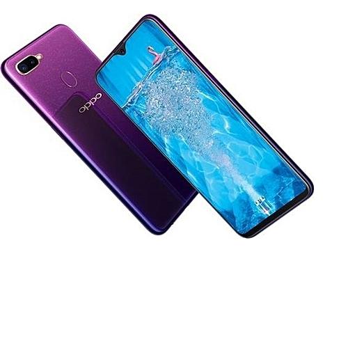 """F9 - 6.3"""" - 64GB - 4GB RAM - 25MP Front Camera - Dual SIM 4G -Purple"""