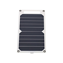 Solar Charger 10W Portable Ultra Thin Monocrystalline Silicon Solar Panel 5V USB Ports For IPhone 6s/6/Plus IPad Galaxy S6/S7/Edge/ Nexus 5X/6P High Effiency Camping Riding Climbing Other Outdoor Activities Lighting Use
