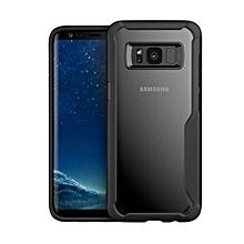 Galaxy S8 Clear  TPU Hybrid Case Back Cover