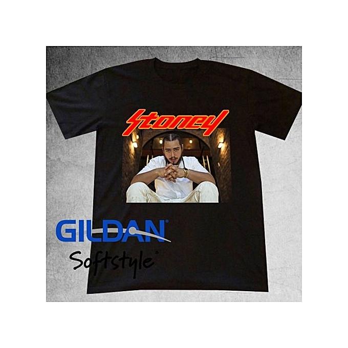 Hot Sell Post Malone T Shirt Tee Hiphop Rap Stoney Iverson Lil Uzi Quavo  Vin Men 53c59116f