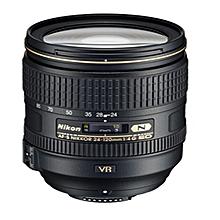 Nikon 24-120 AF-S 24-120mm f/4G ED VR NIKKOR FX Format Lens for Nikon D700 D600 D610 D800 D810 D750 D3 D4  Black