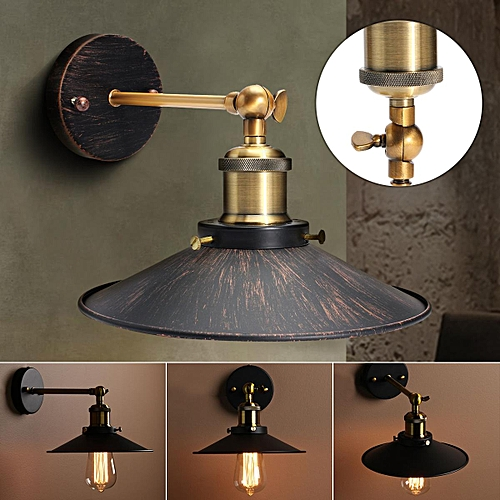 Superb Generic E27 Retro Metal Hanging Lampshade Edison Wall Light Sconce Wiring Digital Resources Antuskbiperorg