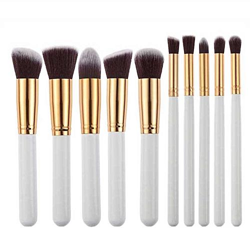 6cb9c95571f2 10pcs Makeup Brushes Set Powder Foundation Eyeshadow Tool