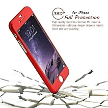 IPhone 7 360° full protective Case - Red