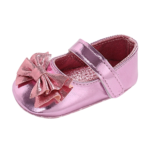 fbcd92e61cbed Infant Newborn Baby Baby Girls Shoes Bow Soft Crib Anti-slip Single Shoes
