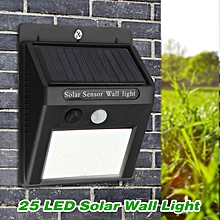 Solar Powered Wall Lamp Motion Sensor Light Control Waterproof Outdoor Light