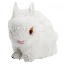 White/Brown/Yellow/Grey Mini Realistic Lifelike Rabbit Cute Bunny Toy Home Decor