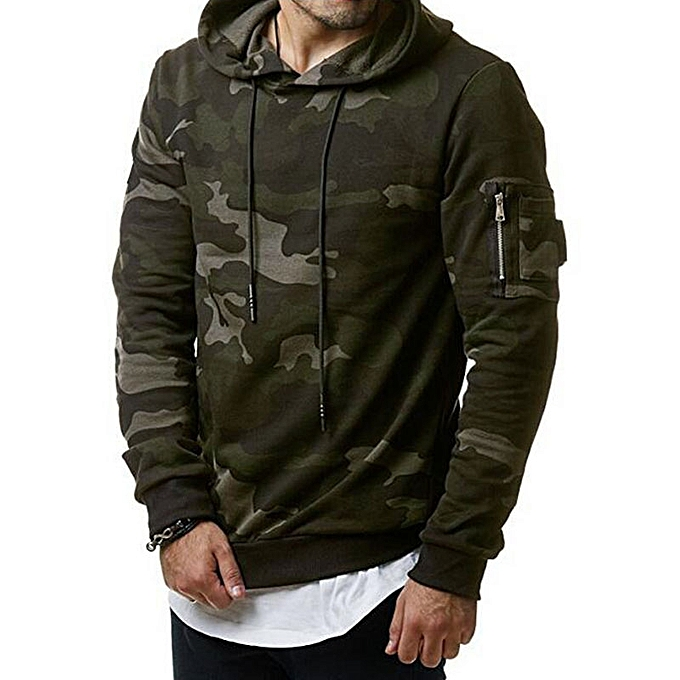Buy Fashion Men Pure Military Winter Jacket Army Green