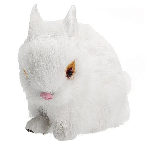 Buy Generic White Brown Yellow Grey Mini Realistic Lifelike Rabbit