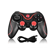 CO Bluetooth Remote Control Gamepad 2.4GHz Wireless Joystick For Android iOS-Black & red