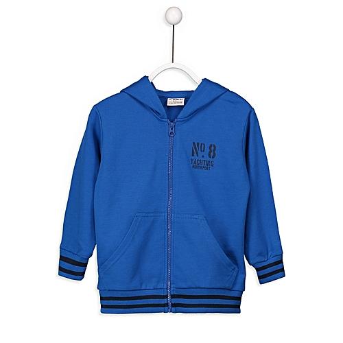 Blue Fashionable Cardigan