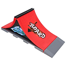 Mini Skate Park Ramp Parts For Tech Deck Fingerboard Finger Skateboard Board