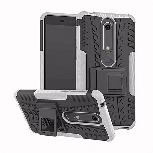 For Nokia 6 2018 Case Nokia 6 1 Case Heavy Duty Armor Hybrid Cover Phone  Case For Nokia 6 2018 TA-1068 TA-1050 TA-1043 TA-1045