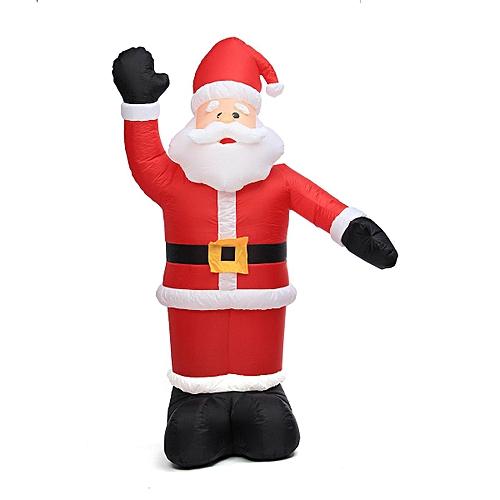 Generic Large Inflatable Santa Snowman Outdoor Airblown Xmas Christmas Decoration Figure