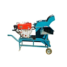 Cow  Feed Making Machine - Blue
