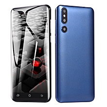 Mobile Phone Smartphone 5.0-Inch Android 6.0 (2MP+2MP) Dual-SIM 3G Smartphone-Blue