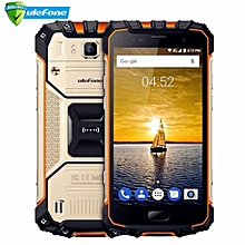 Armor 2 4G Smartphone Android 7.0 5.0 Inch 6GB RAM 64GB ROM Octa Core 2.6GHz IP68 Waterproof NFC 16.0MP Rear Camera-GOLDEN