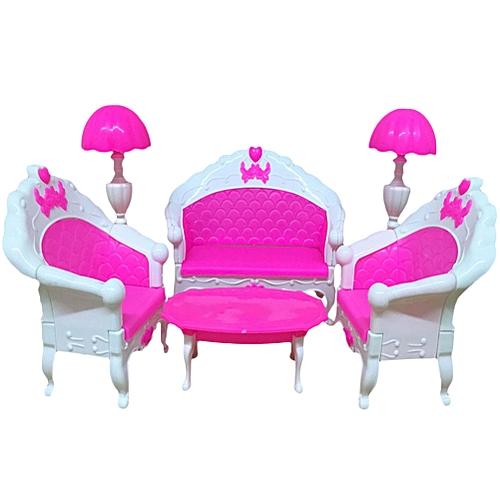 Buy Generic E-TING Mini Dollhouse Furniture Living Room Set Table ...