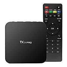 TV BOX TX3 PRO Android 7.1 KODI 17.3 Amlogic S905W 1GB/8GB 4K  XWIFI LAN HDMI-Black