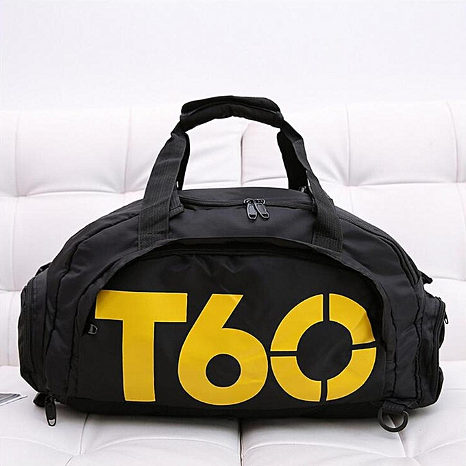 Men Large Sports Duffle Bag Shoulder Gym Travel Luggage Backpack Travel  Handbag Multi-Use Sport 257cf0cc2960c