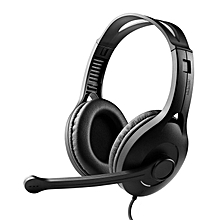 LEBAIQI Edifier K800 Communicator Headphone with Microphone (Black)