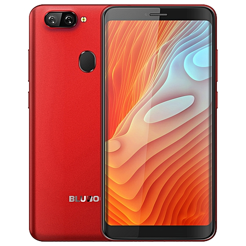 D6 Pro, 2GB+16GB, Dual Back Cameras, Face ID & Fingerprint Identification, 5.5 inch 2.5D Curved Android 8.1 MTK6739V Quad Core up to 1.5GHz, Network: 4G, Dual SIM(Red)