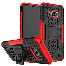 Phone Cover For Samsung Galaxy S8 Case TPU + Rugged PC Armor Kickstand Hard Back Case For Samsung S8 Case Protector Cover