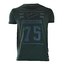 Dark Green Short Sleeved T-shirt Limited Edition