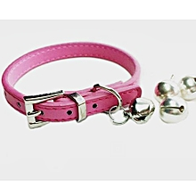 Hot Cute  Bell Bell Collar Small Dog Collar Cat Collars Necklace Hot XS