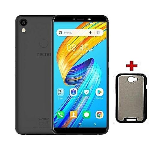 Spark 2- 6'' Android 8.1, [16GB+1GB RAM],  Face Unlock, finger print sensor, (Dual SIM), Black