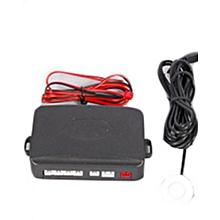 Rear Car Reverse Sensor - 4 Sensor Buzzer - Black
