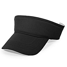 2016 Cotton Empty Top Hat Children Kids Solid Sun Hat Visor Hat Free Customized Wholesale And Retail Group Advertising Cap(Black)