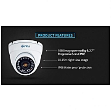 CCTV Surveillance Home Security Outdoor Day Night IR Camera-Black