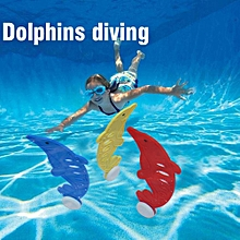3Pcs/Set Hot Dolphin Shape Plastic Outdoor Swimming Pool Diving Cute Children Grab Toy