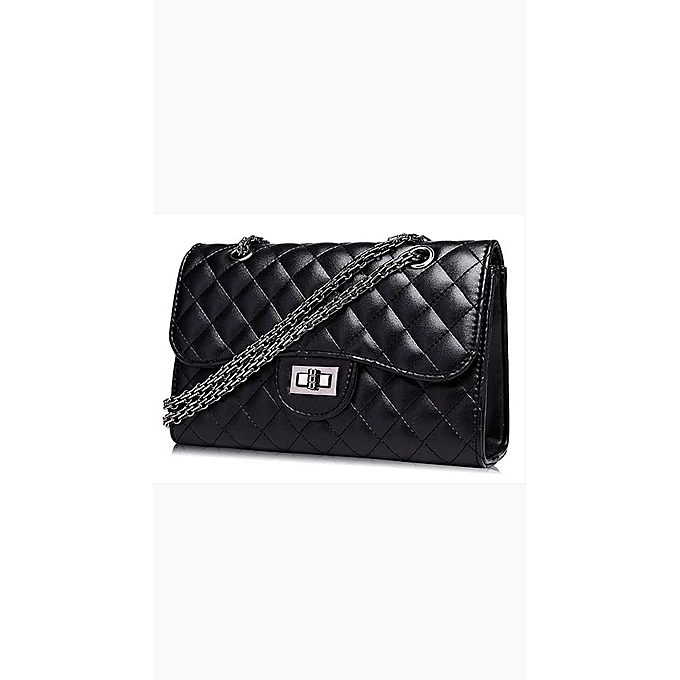 602fdf5aa8c3b3 Generic Shoulder Bag with chanel style - Black @ Best Price | Jumia ...