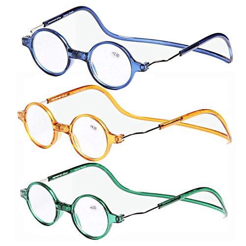 d6ca897d4338 Buy Generic 3Pcs Detachable Magnet Colorful PC Light Weight Neck Hanging  Presbyopic Reading Glasses   Best Price
