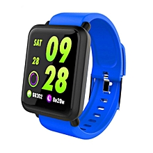 Bakeey H23 Anti-explosion Protective Screen Blood Oxygen Pressure Heart Rate Bluetooth Sports Smart Watch Black/Orange/Blue
