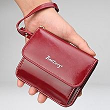 Women Short Wallet Coin Purse Mini Envelope Wallet Ladies Card Holder