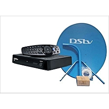 Full KIT - HD Decoder 5s - Black + Dish+1 month free subscription