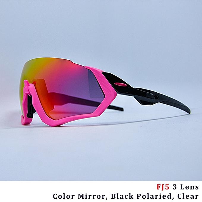 9c7b785c3c Cycling Glasses Cycling Eyewear 3 Lens Polarized Cycling Sunglasses UV400 Bike  Bicycle MTB Cycling Goggle